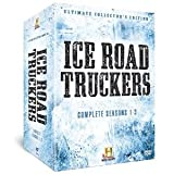 Ice Road Truckers: Ultimate Collector's Edition - History Channel Season 1, 2 & 3 + 164 Page Book + Exclusive Behind the Scenes Bonus (11 Disc Box Set) [DVD]
