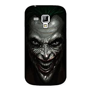 Special Mad face Multicolor Back Case Cover for Galaxy S Duos