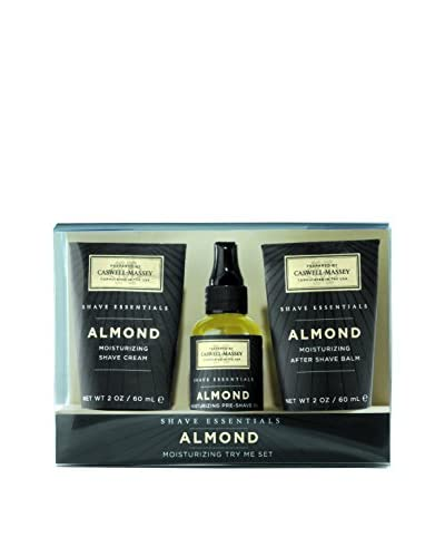 Caswell-Massey Almond Try Me 3-piece Shave Set