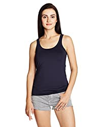 Nautica Women's Body Blouse Top (NT529K1214NV_Navy_XL)