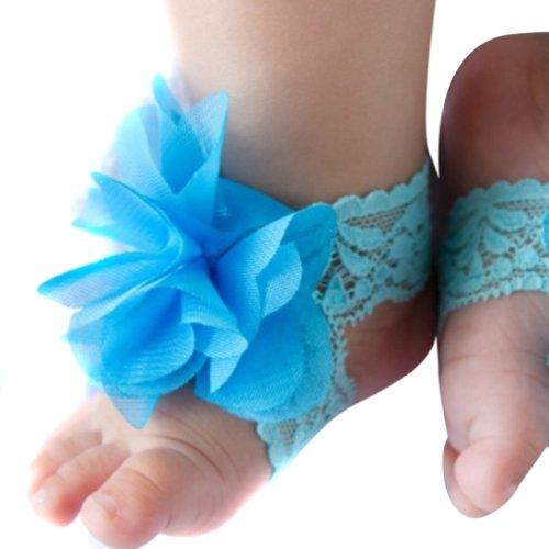 Хи Baby Grand Младенцев Босиком Носки Цветок…
