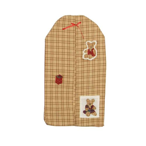 Patch Magic Brown Bear Diaper Stacker, 12-Inch by 23-Inch - 1