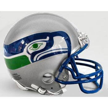 Riddell Seattle Seahawks Replica Mini Helmet - Seattle Seahawks One Size at Amazon.com