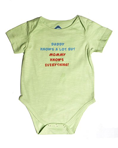 Blue Bus Store Blue Bus Store Daddy Knows A Lot Baby Rompers ,3 6 Months