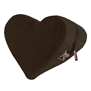 Decor Heart Wedge, Espresso Velvish