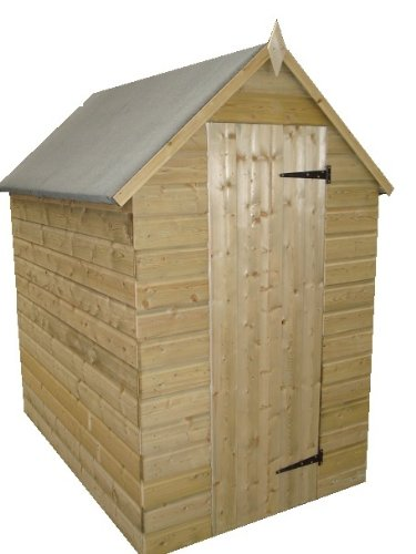 Garden Shed 8X4 Apex Roof Tanalised Shiplap
