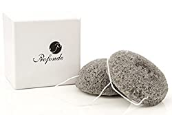 Best Konjac Sponges For Acne Prone Skin Added Activated Charcoal 2 Pack Inc. Facial Sponge & Body Sponge Detoxify & Gently Exfoliate For Blemish Free, Radiant Skin Ethical Company Free Ebook