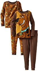 Komar Kids Little Boys' Cheesy Scooby Doo Pajama Set