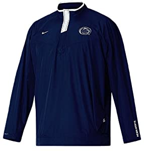 Penn State Nittany Lions Blue 2007 Unlined Coaches Safety Blitz Pull Over Wind Shell... by Nike