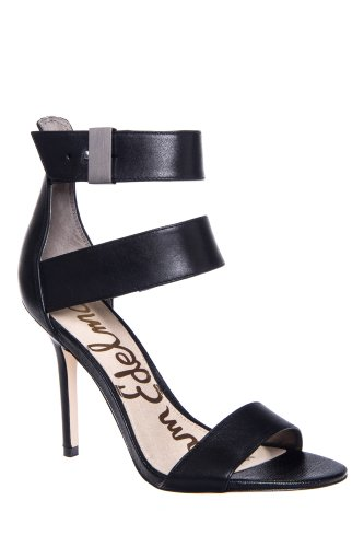 Sam Edelman Addie Stiletto High Heel Ankle Strap Sandal