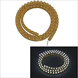 See Carking? PVC-96cm Flexible Waterproof LED Light Strip for Cars/Motorcycles , White Details