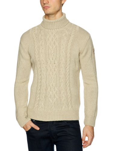 malboro classics Untamed Natur Knitwear Men's Jumper Beige Medium