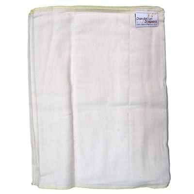 Dandelion Diapers 3 Piece Organic Cotton DSQ Prefolds