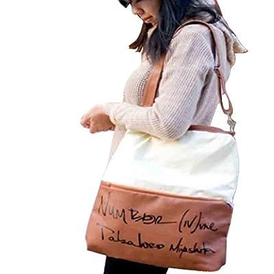 Creazy® Women Fashion Canvas Handbag Backpack Rucksack School Bag Shoulder Bag