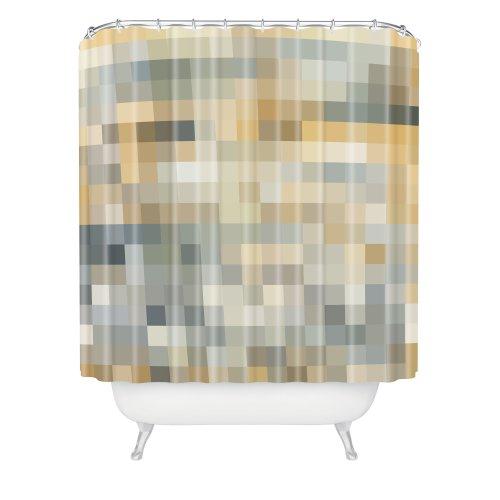 InterDesign 96-Inch Carlton Spa Long Shower Curtain, White