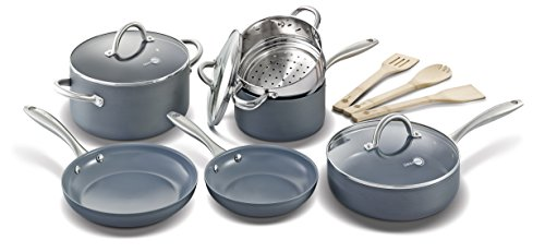 GreenPan Lima 12pc Ceramic Non-Stick Cookware Set