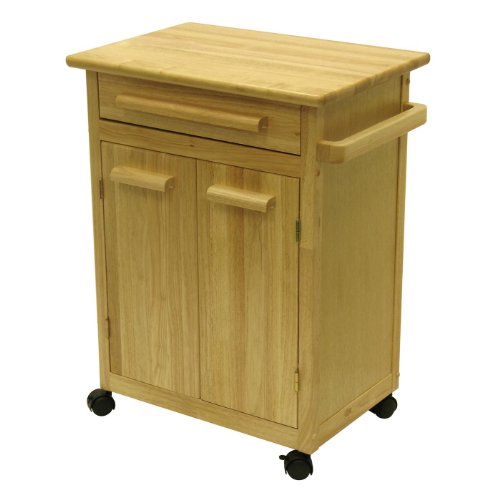 Cheap Kitchen Cart With One Drawer, Cabinet By Winsome Wood (B006VIILAG)