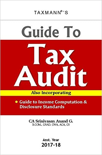 Taxmann Guide to Tax Audit AY 2017-18