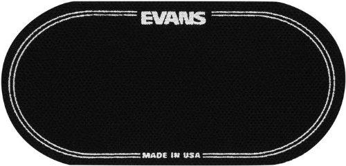 Evans EQ Double Pedal Patch, Black Nylon image