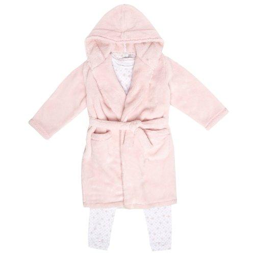 J by Jasper Conran J By Jasper Conran Designer Girl's Pink Three Piece Pyjama Set