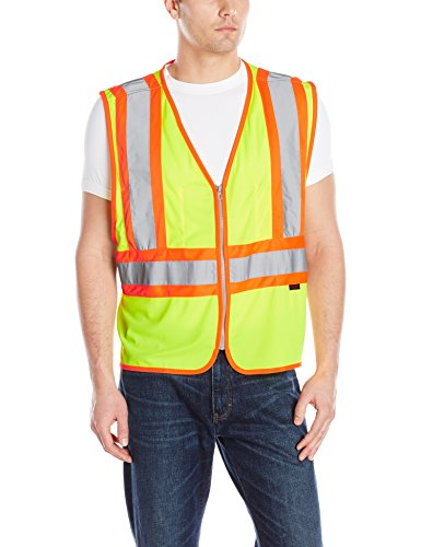 Wolverine Men's Mile Market Vest, Hi Vis Green, Large