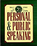 Personal and Public Speaking