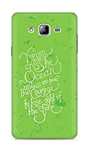 AMEZ you can never cross the Ocean Back Cover For Samsung Galaxy ON7
