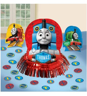 Thomas 'Chugging Your Way' Table Decorating Kit (23pc)
