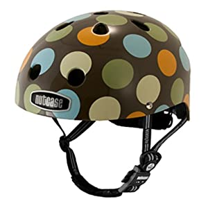 Nutcase Little Nutty Modern Dots Kids Bike Helmet, X-Small (46 cm-52 cm)