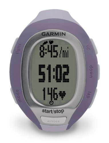 Garmin FR60 Lilac Fitness Watch (Includes Heart Rate Monitor and USB ANT Stick)