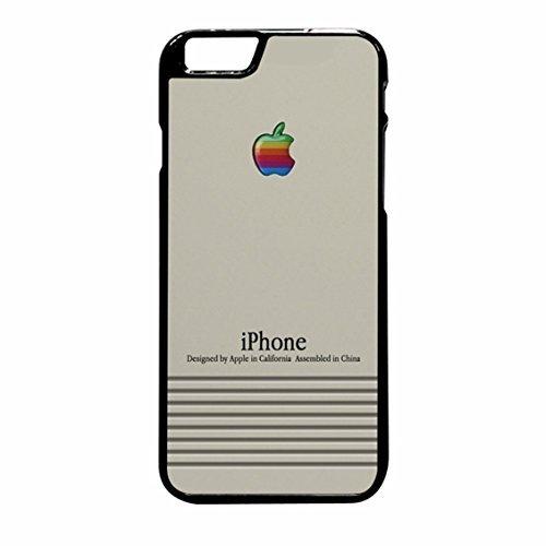 Macintosh iPhone 6 Plus/6s Plus Case (Black Rubber)