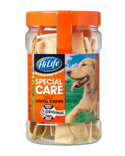 HiLife-Special-Care-Daily-Dental-Dog-Chews-Original-Jar-x-12-Pack-Of-3-Total-36-Chews