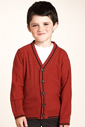 Boys' Limited Knitted Cardigan & Jersey T-shirt Set