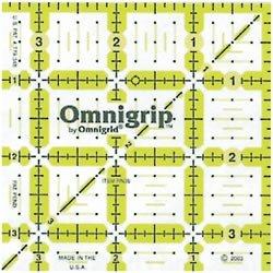 Dritz Omnigrip Non Slip Quilters Ruler 3 1/2