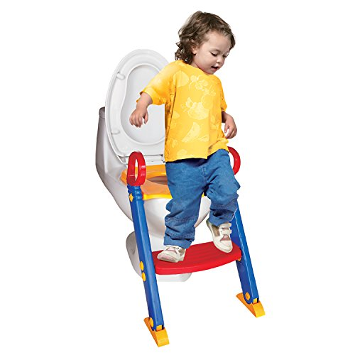 Chummie Joy 6 In 1 Portable Potty Training Ladder Step Up Seat For Boys And Girls
