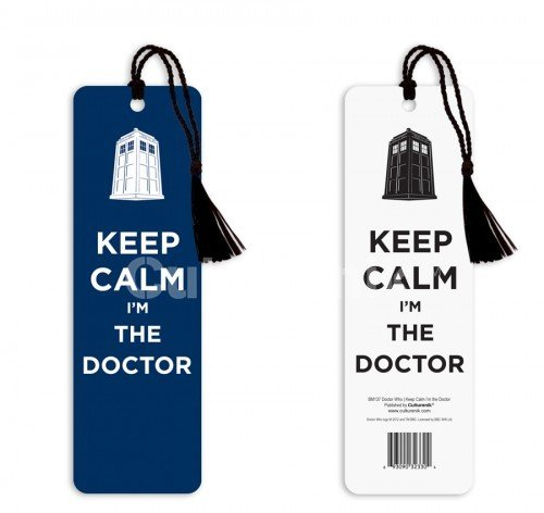 Doctor Who Keep Calm I'm the Doctor Tasseled Bookmark – Dr Who