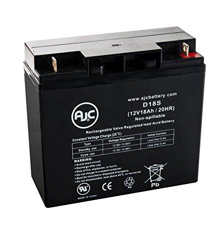 Batterie Panasonic LC-RC1217PAP 12V 18Ah Acide scellé de plomb - Ce produit est un article de remplacement de la marque AJC®