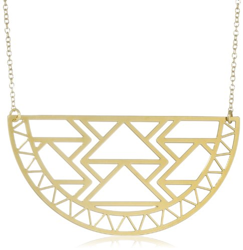 Kris Nations Biltmore Gold Pendant Necklace