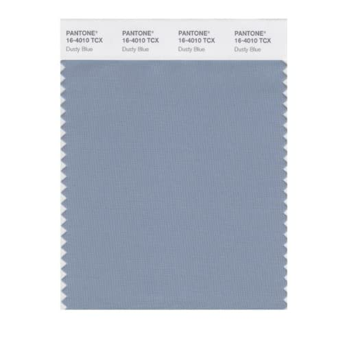 PANTONE SMART 16-4010X Color Swatch Card, Dusty Blue