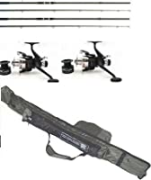 2 Rod Set Up 2 X Rods 2 X Reels And 2+2 Rod Holdall from LINEAEFFE