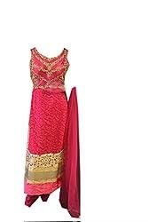 Anjali Women's Georgette Dress Material (Anj14_Multi)