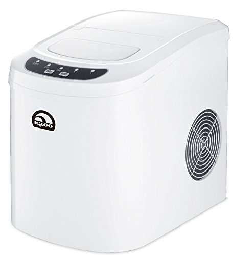 Igloo Countertop Compact 26 lb. Portable Freestanding Ice Maker, White (Certified Refurbished)