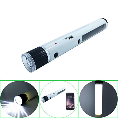 Red Dandelion Emergency Dual Practcial Rechatgeable Solar Pawered LED Flashlight (Solar Powered Portable Cooler compare prices)