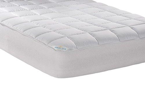 PROCAVE-Micro-Comfort-Matratzen-Bett-Schoner-wei-200x200-cm-mit-Spannumrandung-Hhe-bis-30cm-Auch-fr-Boxspring-Betten-und-Wasser-Betten-geeignet-Microfaser-100-Polyester-Matratzen-Auflage
