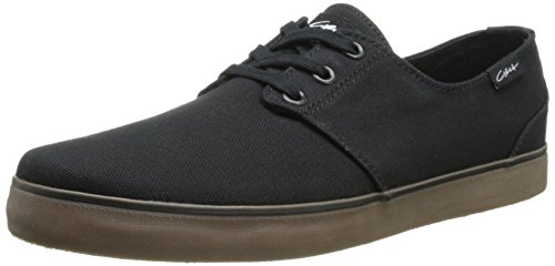 C1RCA Crip Skate Shoe, Black/Gum, 7 M US