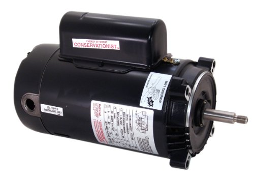 A.O. Smith Ust1202 2 Hp, 3450 Rpm, 56J Frame, Capacitor Start/Capacitor Run, Odp Enclosure, C-Face Pool Motor