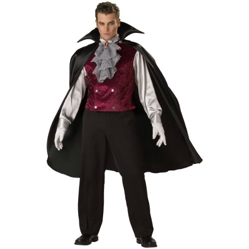 Classic Vampire Costume - Large - Chest Size 42-44
