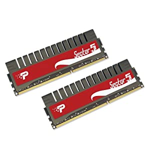 Patriot Memory Sector 5 G Series 8 GB (2x4 GB) DDR3 PC3-10666 1333 MHz 9-9-9-24 Dual Channel PGV38G1333ELK