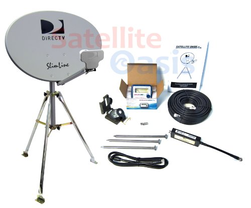 Check Out This Satellite Oasis Directv Hd Satellite Dish Rv Tripod Kit