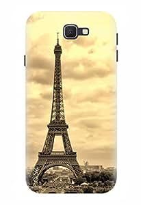 Noise Designer Printed Case / Cover for Samsung Galaxy J5 Prime / Patterns & Ethnic / Eiffel Design